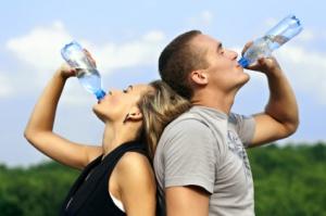 Ausreichend Trinken beim Sport