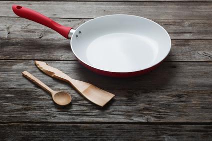 Kochen mit der Keramikpfanne
