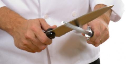 Auf das Messer kommt es an