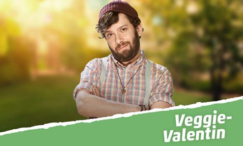 Grillen mit Veggie-Valentin