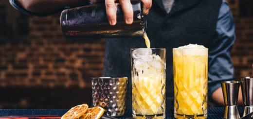 Grundausstattung für Cocktails