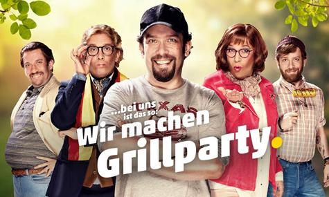Wir machen Grillparty...mit Veggie-Valentin & PENNY